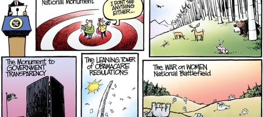 National Monuments (Cartoon)