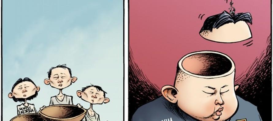 Kim Jong Unhinged (Cartoon)