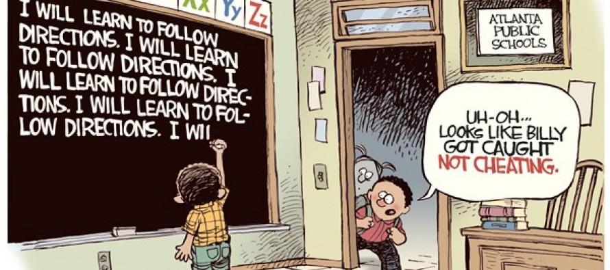 Atlanta School Cheating (Cartoon)