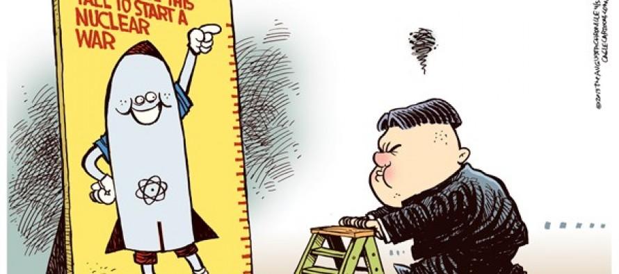 Kim Jong Un War (Cartoon)