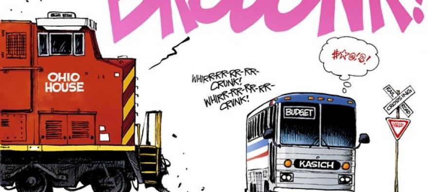 Kasich Budget  (Cartoon)