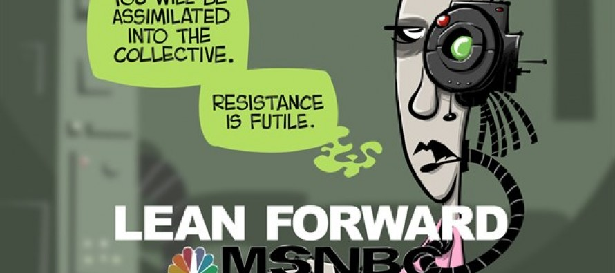 The Progressive network (Cartoon)