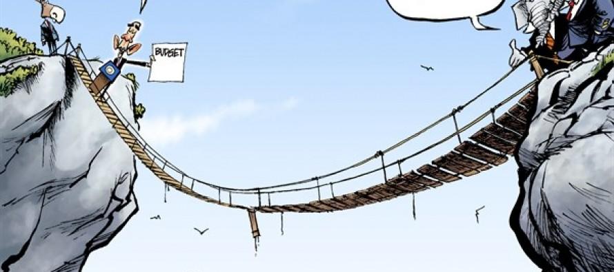 Obama Budget (Cartoon)