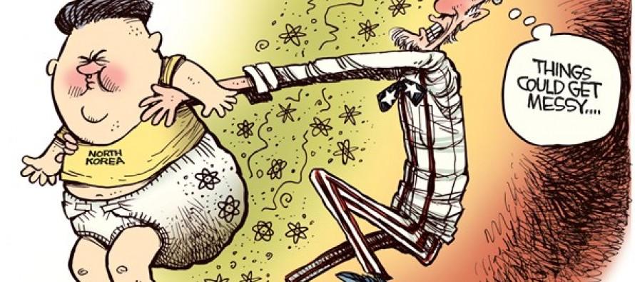 Kim Jong Un Dirty Diaper (Cartoon)