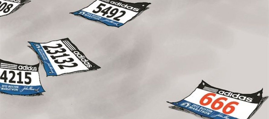 Boston Marathon Attack (Cartoon)