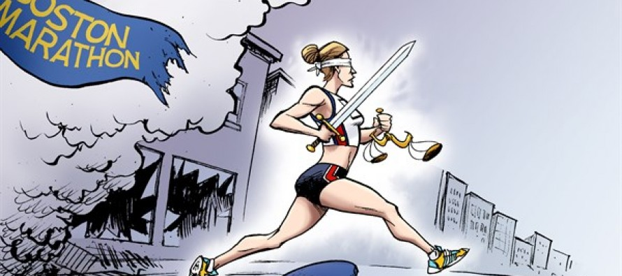 Boston Marathon (Cartoon)