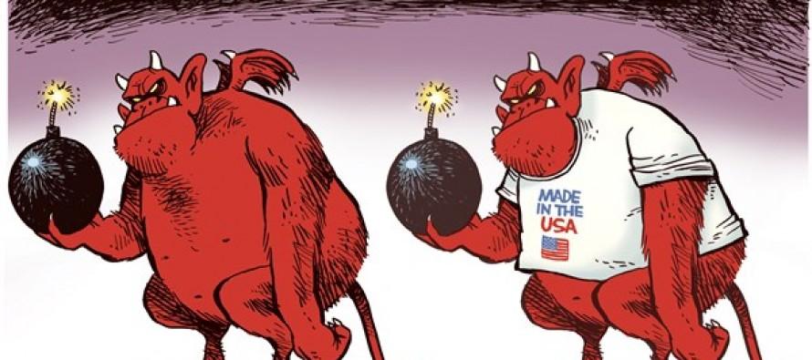 Foreign vs Domestic Terrorism (Cartoon)