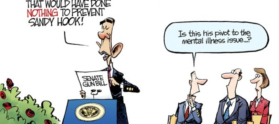 Gun Control Bill (Cartoon)