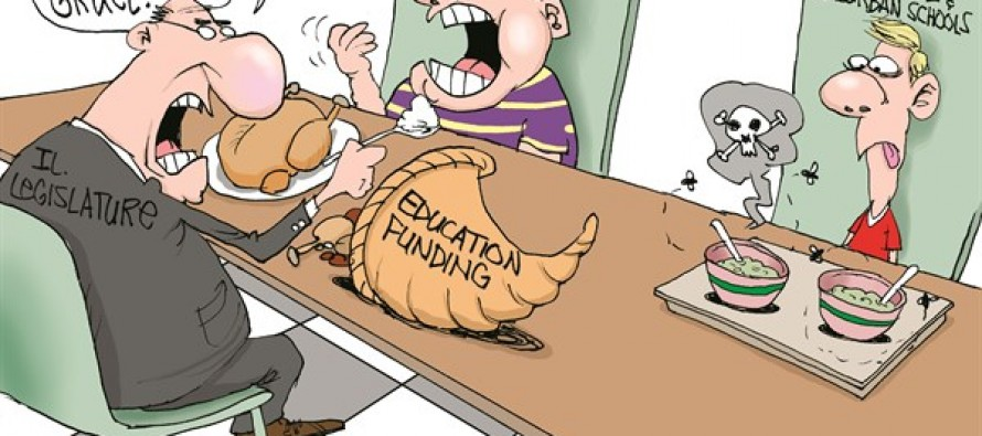 Chicago School Funding (Cartoon)