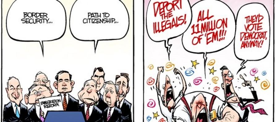 Immigration Reform (Cartoon)