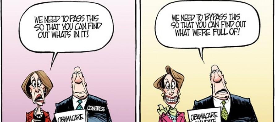 Congressional Health Care (Cartoon)