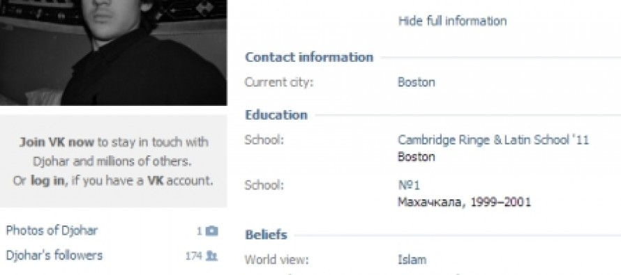 Confirmed: The Boston Marathon Bombers Were Both Muslims
