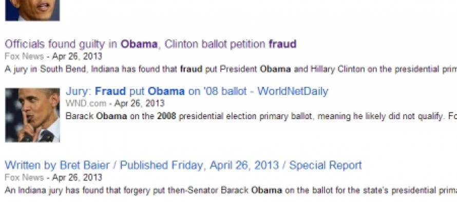 Democrats Found Guilty of Election Fraud For 2008 Obama Ballots While Mainstream Media Ignores