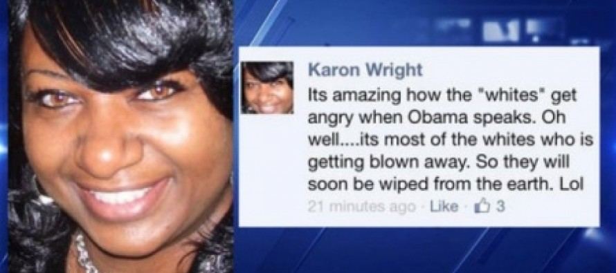 """Texas School Counselor Fired After Insane Facebook Post: Whites """"Will Soon Be Wiped From the Earth. Lol."""""""