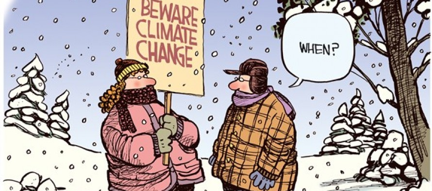 Climate Change (Cartoon)