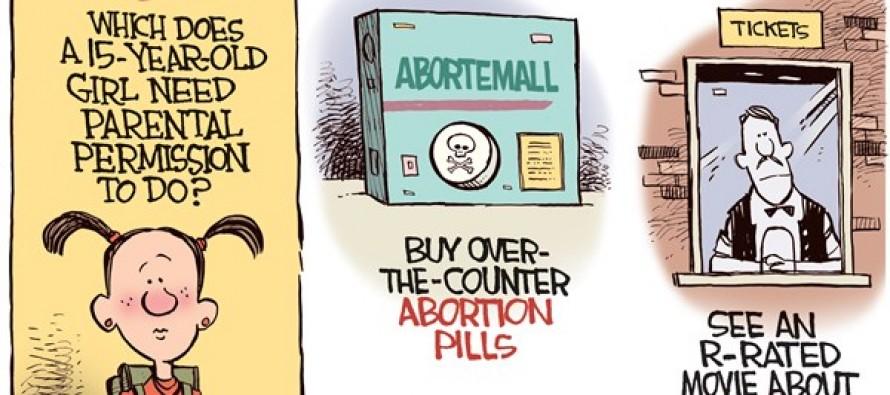 Abortion Pills (Cartoon)