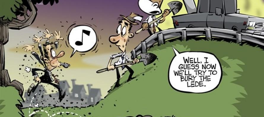 Benghazi cover-up (Cartoon)