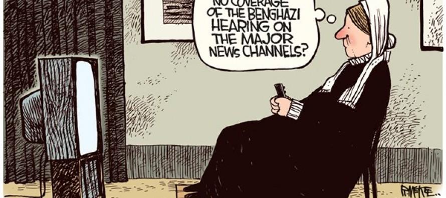 Whistleblower's Mother (Cartoon)