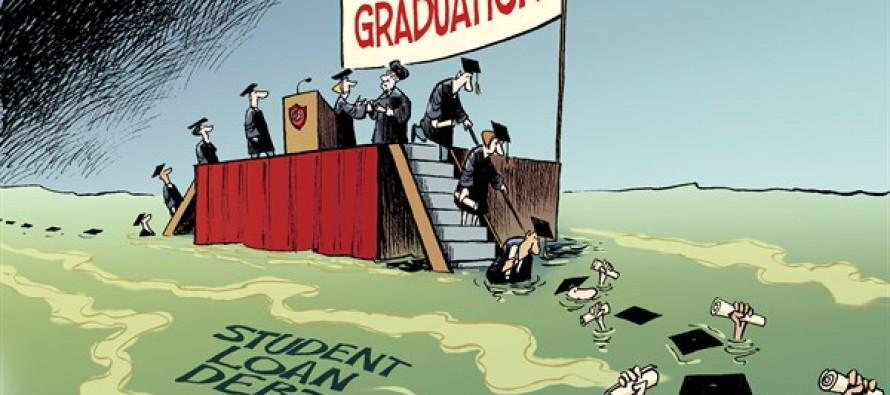 Underwater Graduates (Cartoon)