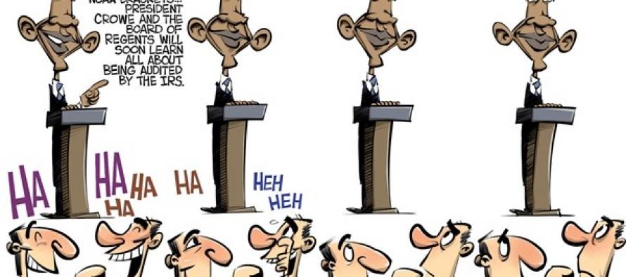 Obama and the IRS (Cartoon)