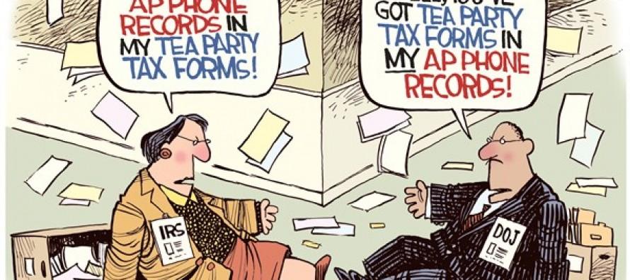 Obama Scandals (Cartoon)