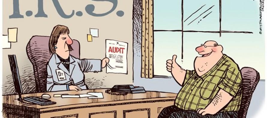 IRS Pleads the Fifth (Cartoon)