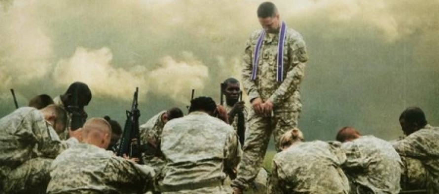 Our Military Now Says It May Prosecute Christian Soldiers Who Discuss Their Faith