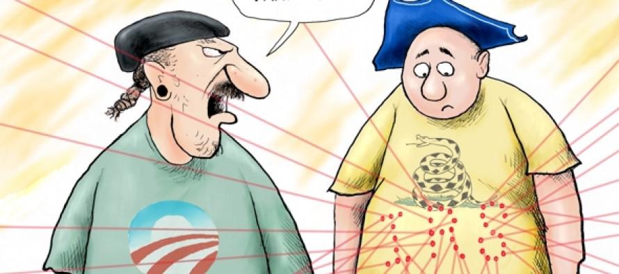 Branco Cartoon — IRS Targeted Grilling (Cartoon)