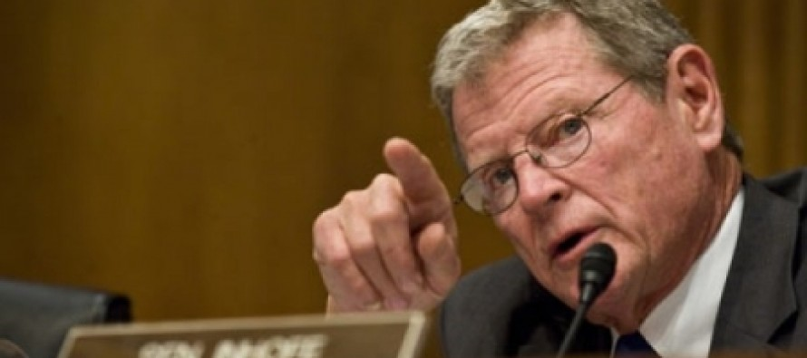 "GOP Senator James Inhofe On Benghazi: ""We May Be Starting To Use The I-Word Before Too Long."""