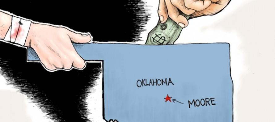 Moore Oklahoma (Cartoon)