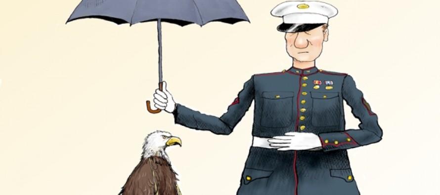 Branco Cartoon — Why They Serve (Cartoon)