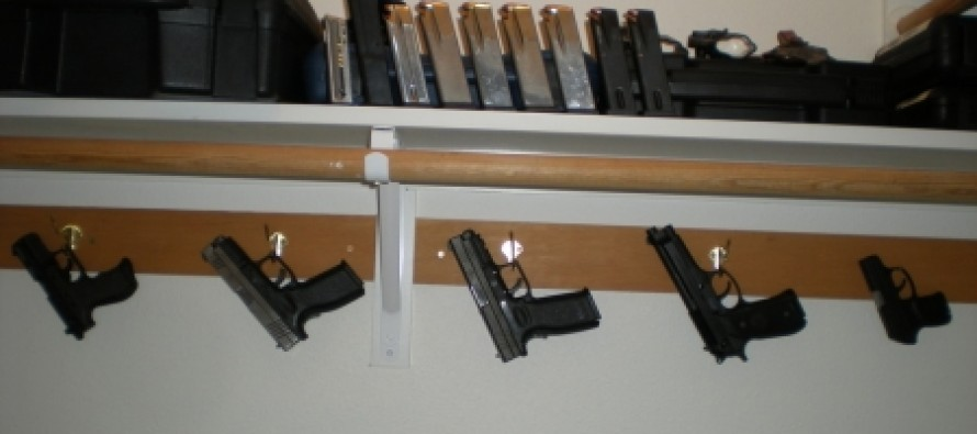 Burglars Lock Homeowner in Closet….THE GUN CLOSET.