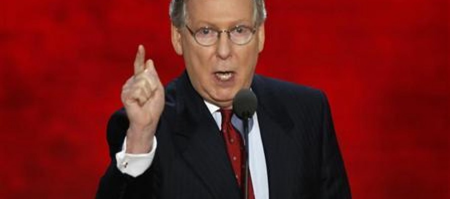 Mitch McConnell: The IRS Can't Be Involved In Obamacare