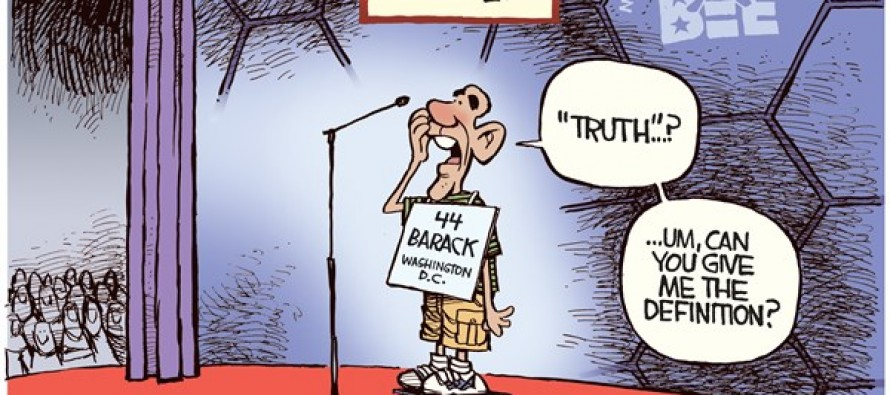 Obama Stumped (Cartoon)