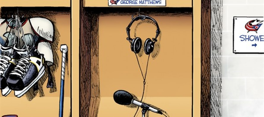 Blue Jackets Radio (Cartoon)