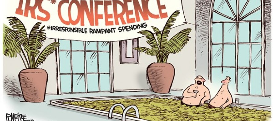 IRS Conference (Cartoon)