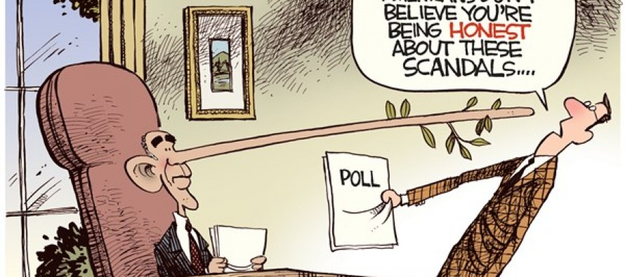 Obama Dishonesty (Cartoon)