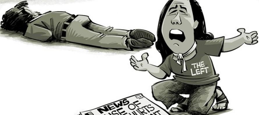 Victim of Big Government (Cartoon)