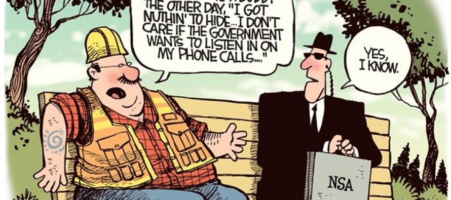 Privacy Apathy (Cartoon)