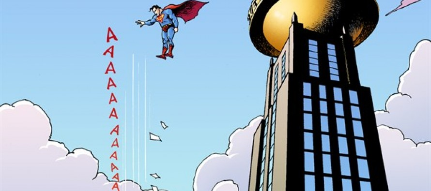 Superman Subpoena (Cartoon)