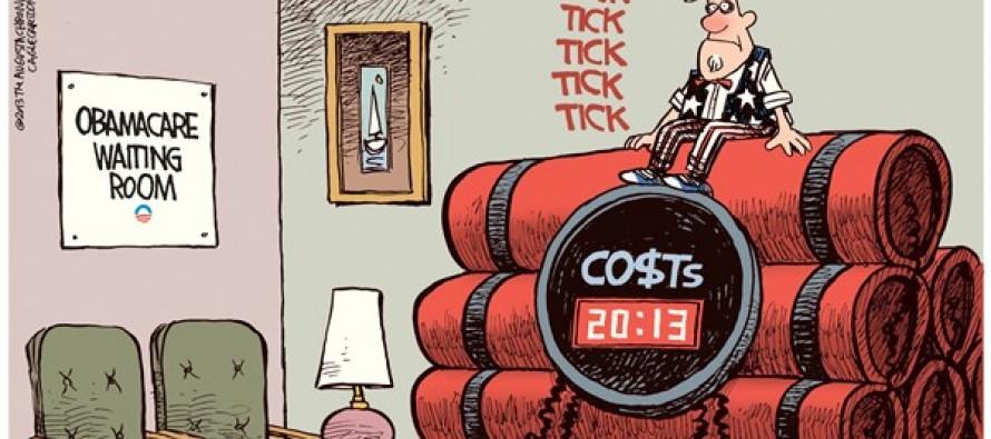 Obamacare Waiting Room (Cartoon)