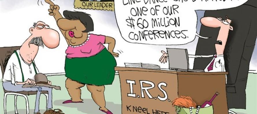 IRS Line Dance (Cartoon)