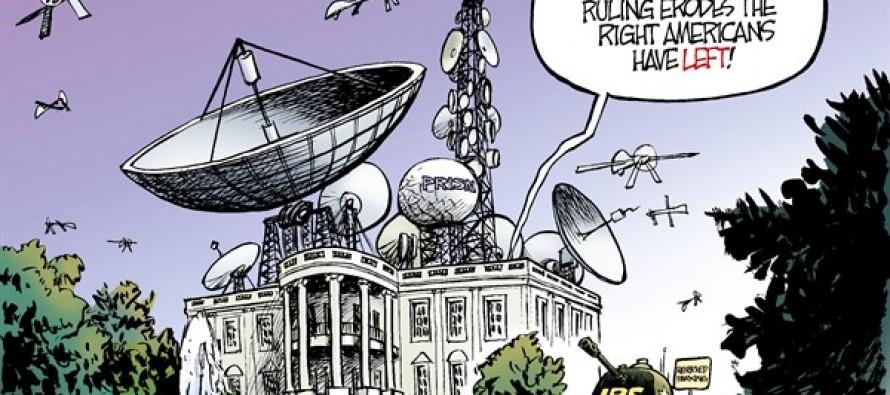 Eroding Rights (Cartoon)