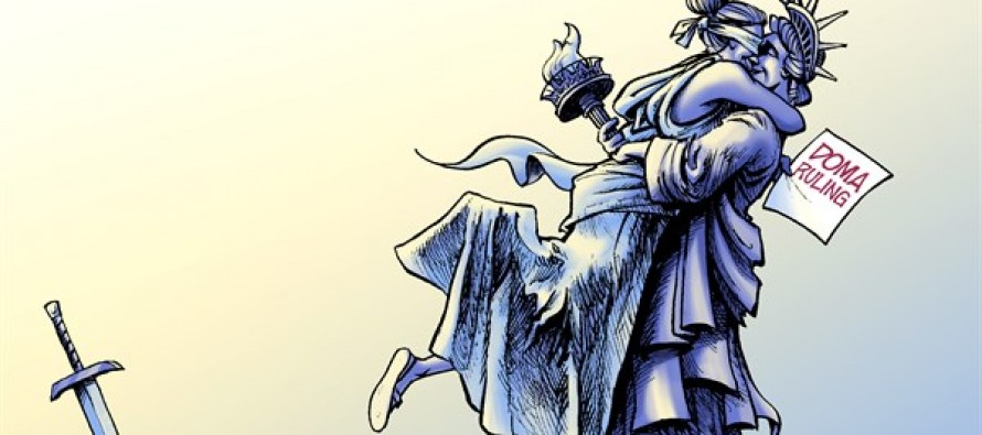 Gay Marriage (Cartoon)