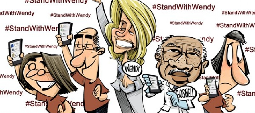 Stand with Wendy (Cartoon)
