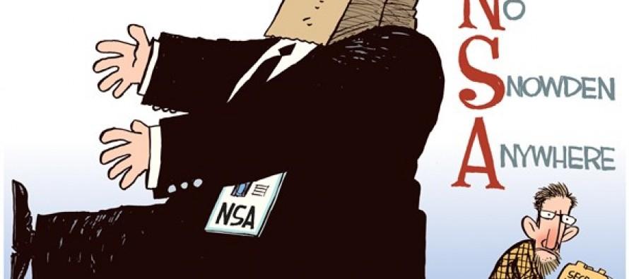 No Snowden Anywhere (Cartoon)