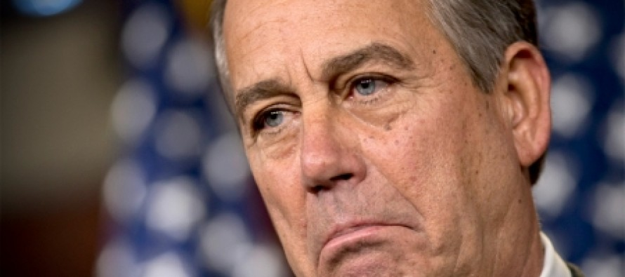 70 Congressional Republicans Revolt And Scare John Boehner Straight On Illegal Immigration