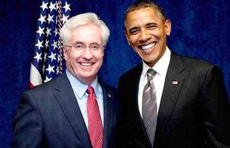 John Morse & Barack Obama