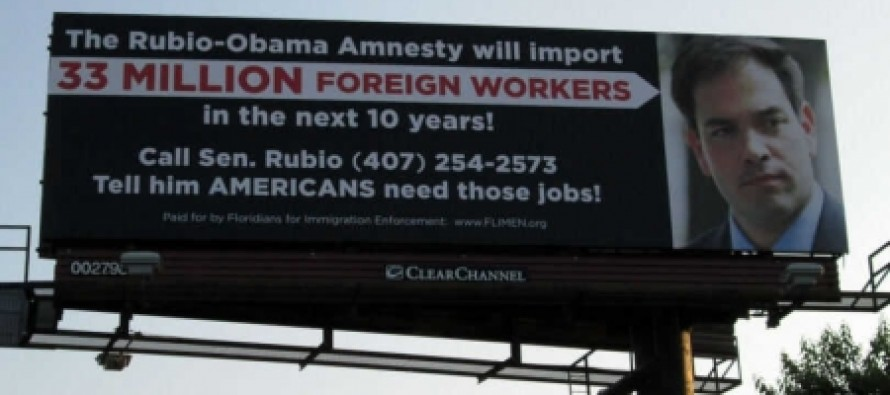 Conservative Group Hammers Marco Rubio With Tough Anti-Amnesty Billboard In Florida