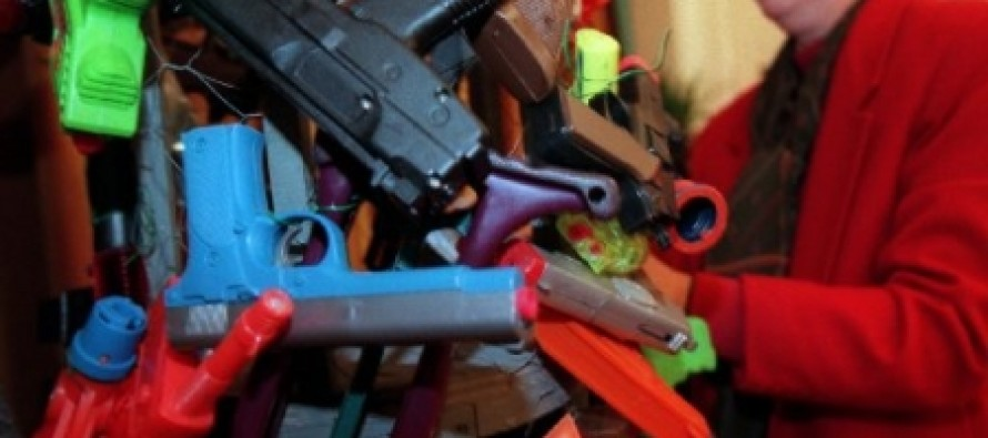 A California School Has A Toy-Gun Buyback
